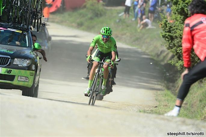 14-05-2016 Giro D'italia; Tappa 08 Foligno - Arezzo; 2016, Cannondale; Moser, Moreno; Alpe Di Poti;