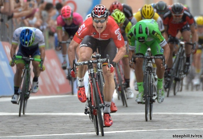 Giro d'Italia: fifth stage