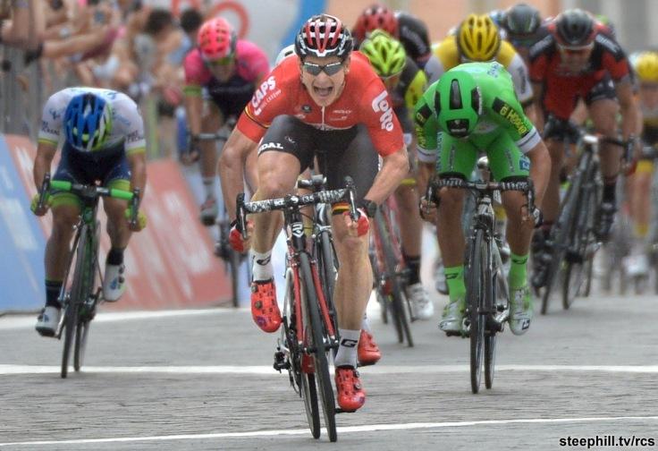 Giro d'Italia: fifth stage