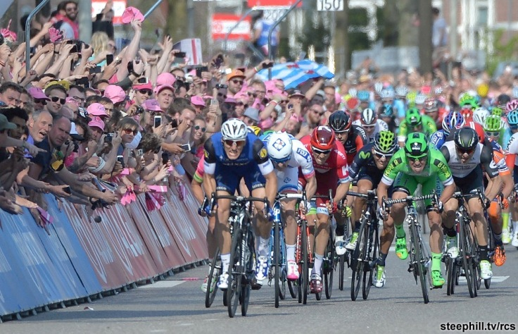 Giro D'Italia 2016: scond stage