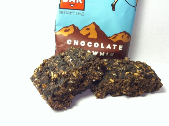 CLIF Chocolate Brownie Bar Close