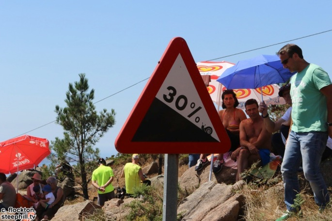 road sign at teh finish