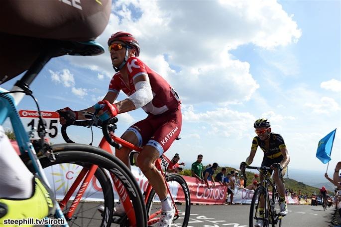 27-08-2016 Vuelta A Espana; Tappa 08 Villalpando - La Camperona; 2016, Katusha; Lagutin, Sergey; La Camperona;