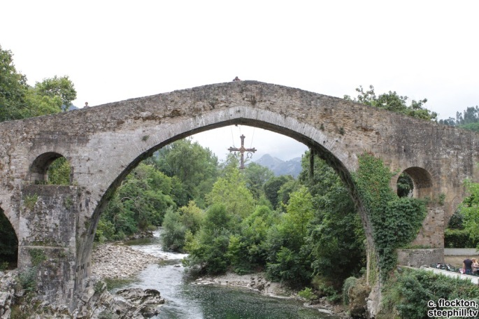 Bridge in Cangas de Onis