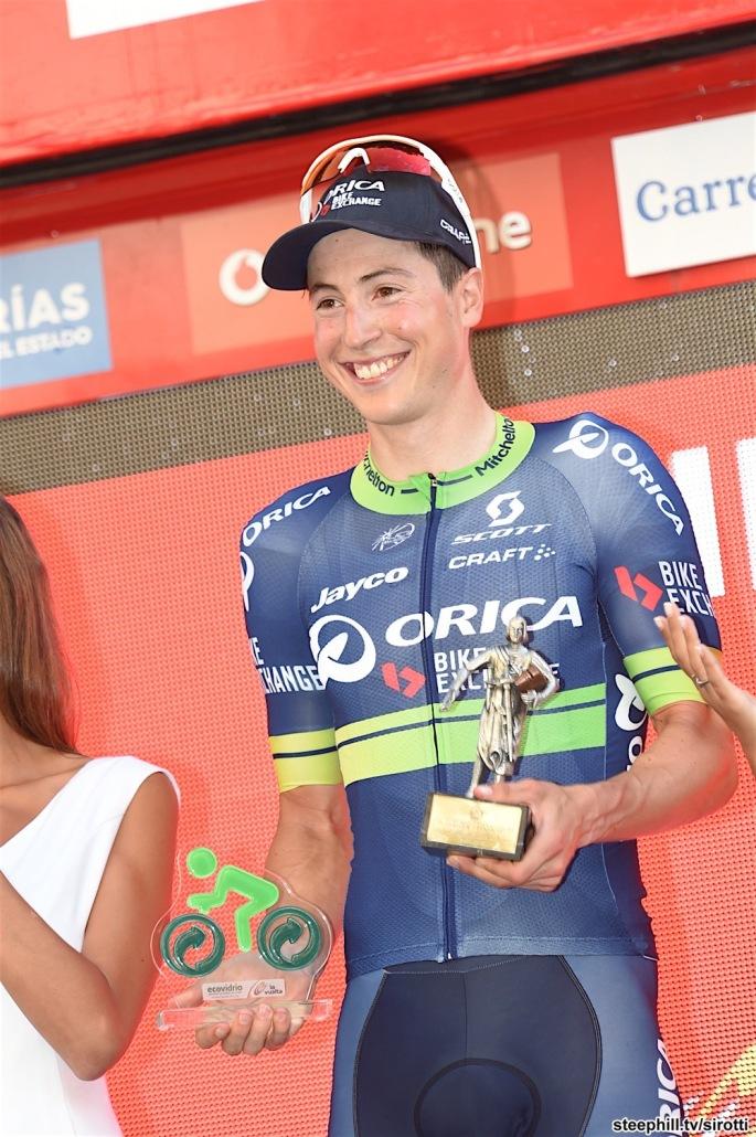 01-09-2016 Vuelta A Espana; Tappa 12 Los Corrales De Buelna - Bilbao; 2016, Orica - Bikeexchange; Keukeleire, Jens;