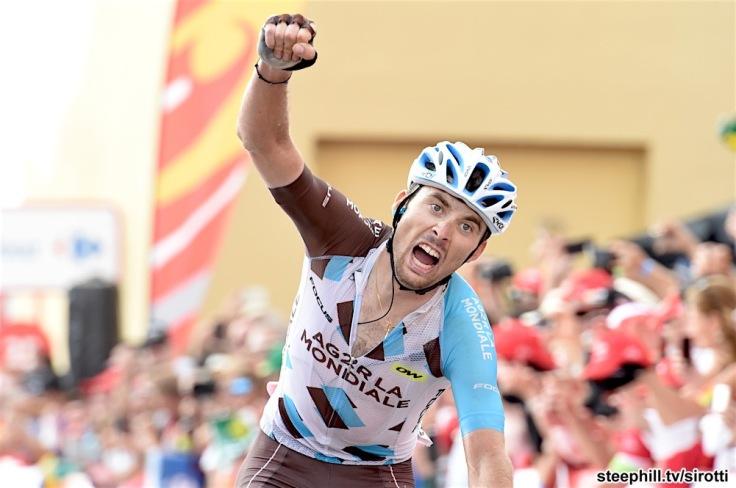 10-09-2016 Vuelta A Espana; Tappa 20 Benidorm - Alto De Aitana; 2016, Ag2r La Mondiale; Latour, Pierre Roger; Alto De Aitana;
