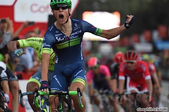 11-09-2016 Vuelta A Espana; Tappa 21 Las Rozas - Madrid; 2016, Orica - Bikeexchange; Nielsen Magnus, Cort; Madrid;