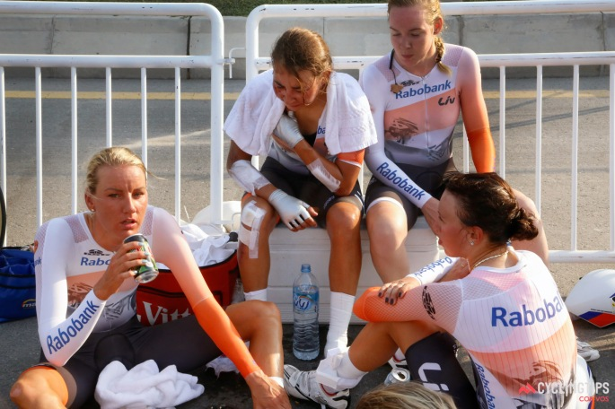 Road World Championships 2016 TTT women