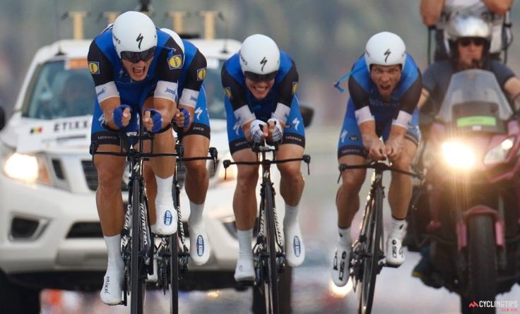 Road World Championships 2016 TTT men