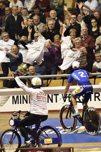 201115/ Lotto 6 daagse  Vlaanderen Gent / Eric Schoefs -Kenny De Ketele