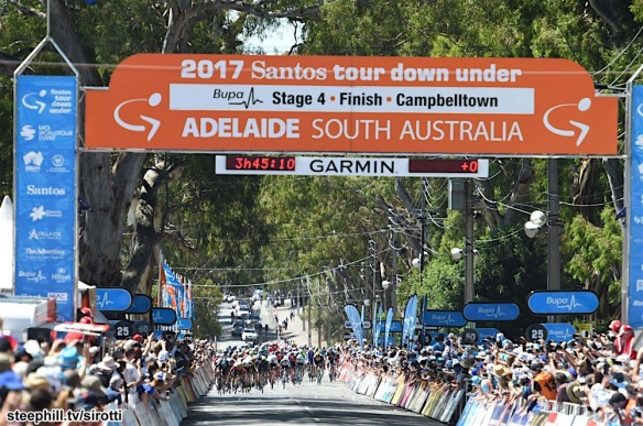20-01-2017 Tour Down Under; Tappa 04 Norwood - Campbelltown; Campbelltown;