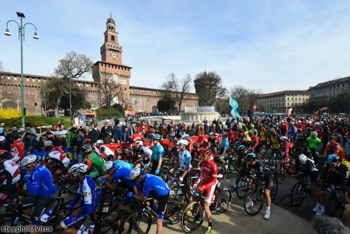Gara Ciclistica Milano-Sanremo 2017  - km 291.