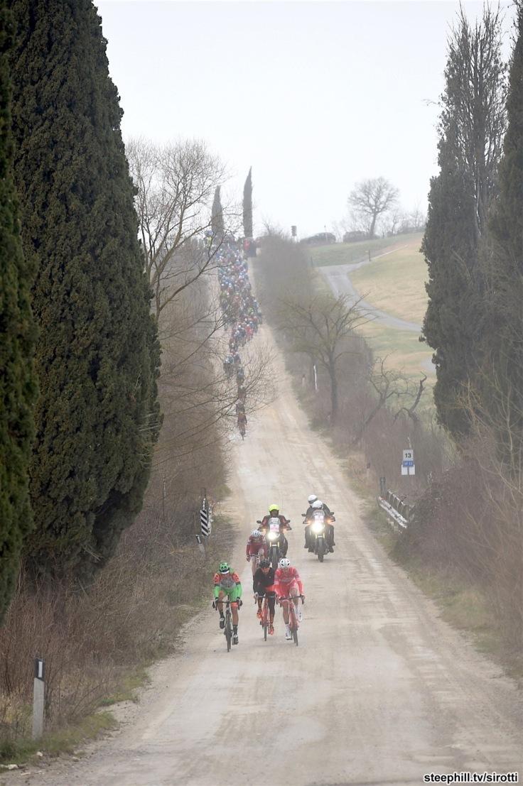 04-03-2017 Strade Bianche; Bagnaia;
