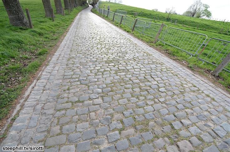 31-03-2017 Allenamento Tour Des Flandres 2017; Koppenberg;