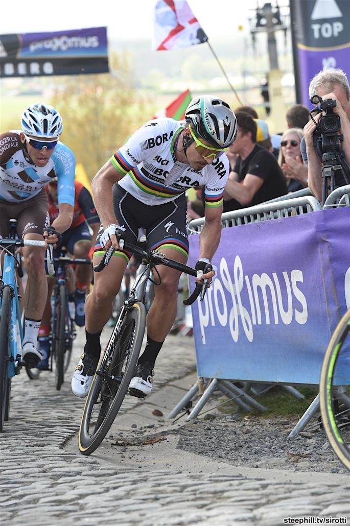 02-04-2017 Tour Des Flandres; 2017, Bora - Hansgrohe; Sagan, Peter; Patersberg;