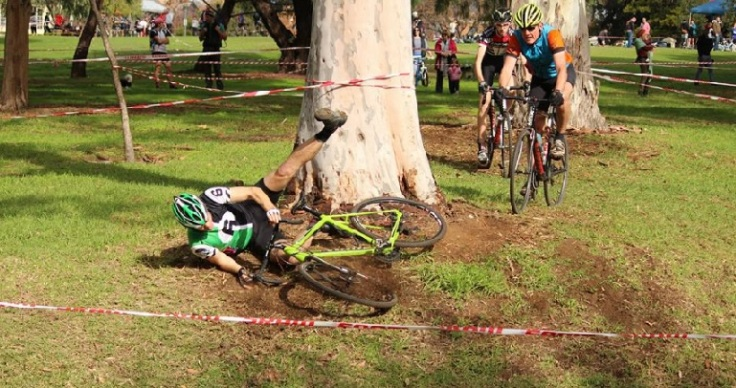 A not uncommon sight in my cyclocross 'career'