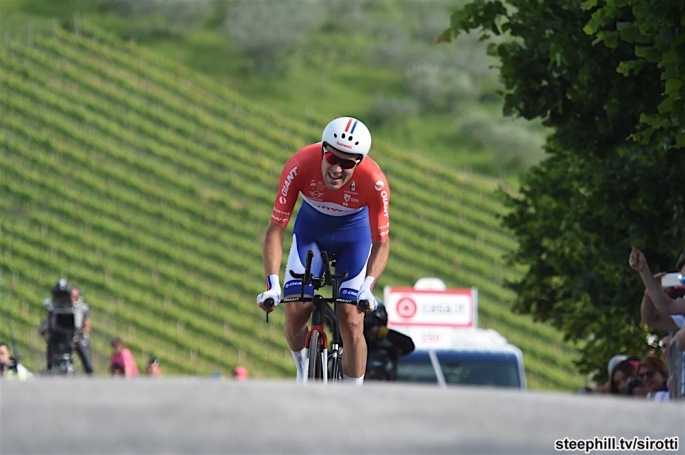15-05-2017 Giro D'italia; Tappa 10 Foligno - Montefalco; 2017, Team Sunweb; Dumoulin, Tom; Montefalco;