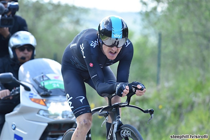 15-05-2017 Giro D'italia; Tappa 10 Foligno - Montefalco; 2017, Team Sky; Geraint, Thomas;