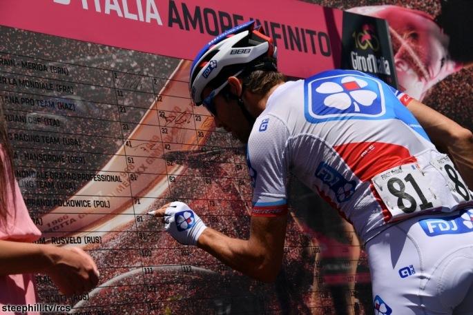 Giro d'Italia 2017 - 100a edizione - Montenero di Bisaccia-Blockhaus
