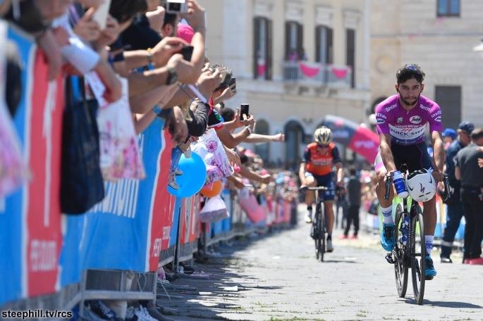 Giro d'Italia 2017 - 100a edizione -  Tappa 6 - da Reggio Calabria a Terme Luigiane - 217 km ( 134