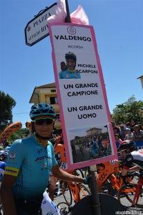 21-05-2017 Giro D'italia; Tappa 15 Valdengo - Bergamo; 2017, Astana; Zeits, Andrey; Scarponi, Michele; Valdengo;