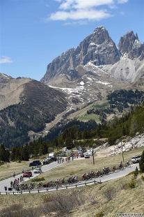 25-05-2017 Giro D'italia; Tappa 18 Moena - Ortisei; Passo Pordoi;