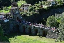 Foto LaPresse - Fabio Ferrari 21/05/2017 Bergamo (Italia) Sport Ciclismo Giro d'Italia 2017 - 100a edizione - Tappa 15 - da Valdengo a Bergamo - 199 km ( 123,6 miglia ) Nella foto:durante la gara. Photo LaPresse - Fabio Ferrari May 21, 2017 Bergamo ( Italy ) Sport Cycling Giro d'Italia 2017 - 100th edition - Stage 15 - Valdengo Bergamo - 199 km ( 123,6 miles ) In the pic:during the race.