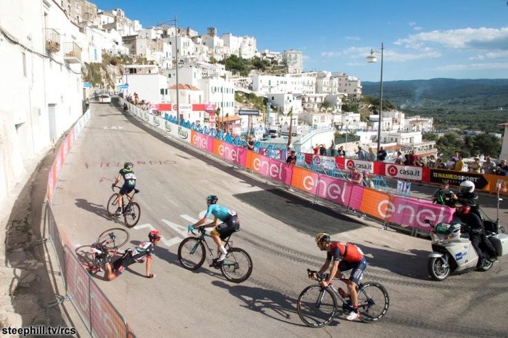 Giro d'Italia 2017 - 100a edizione -  Tappa 8 - da Molfetta a Peschici- 189 km ( 117 miglia )