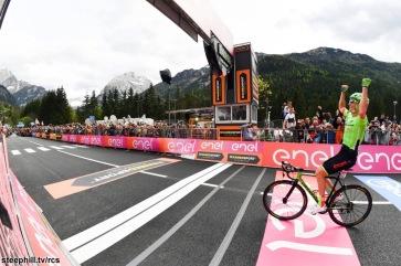 Foto LaPresse - Massimo Paolone 24/05/2017 Canazei (Val di Fassa) (Italia) Sport Ciclismo Giro d'Italia 2017 - 100a edizione - Tappa 17 - da Tirano a Canazei (Val di Fassa) - 219 km ( 136 miglia ) Nella foto: ROLLAND Pierre ( FRA )( Cannondale-Drapac Pro C.T. ) Photo LaPresse - Massimo Paolone May 24, 2017 Canazei (Val di Fassa) ( Italy ) Sport Cycling Giro d'Italia 2017 - 100th edition - Stage 17 - Tirano to Canazei (Val di Fassa) - 219 km ( 136 miles ) In the pic: ROLLAND Pierre ( FRA )( Cannondale-Drapac Pro C.T. )