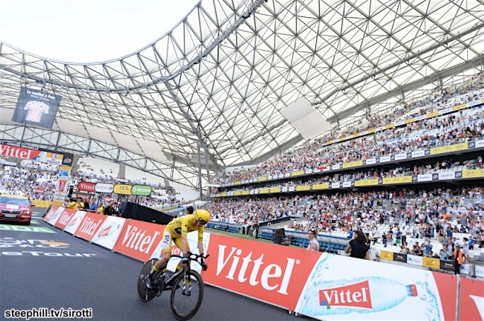 22-07-2017 Tour De France; Tappa 20 Marseille - Marseille; 2017, Team Sky; Froome, Christopher; Marseille Stade Velodrome;