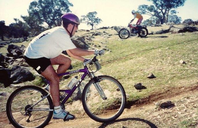 1994 GT RTS3 - Mt Torrens MTB Race