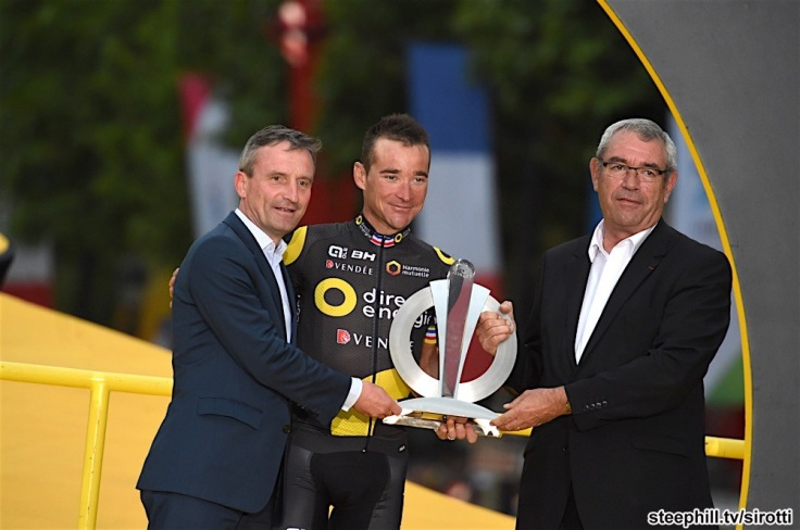 23-07-2017 Tour De France; Tappa 21 Montgeron - Paris; 2017, Direct Energie; Voeckler, Thomas; Geisel Thomas, ; Auvinet, Yves; Paris;