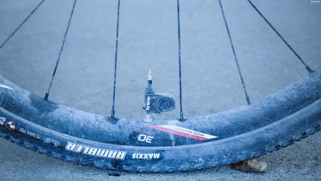 Keough used Quarq's Tire Wiz to monitor her tire pressure