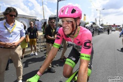 Fontenay-le-Comte - France - wielrennen - cycling - cyclisme - radsport -CRADDOCK Lawson of Team EF Education First-Drapac p/b Cannondale pictured during the 105th Tour de France - stage - 1 from Noirmoutier-en-l'Île to Fontenay-le-Comte - 189KM - photo VK/PN/Cor Vos © 2018