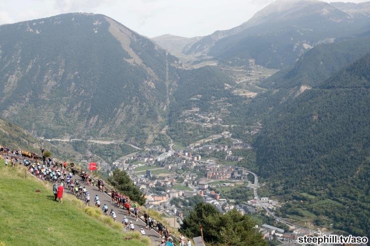 Vuelta España 2018; Etapa 20 Andorra Escaldes-Engordany / Coll de la Gallina 97,3 KM Km ; Sábado  15/09/2018