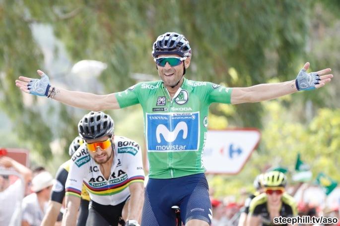 Vuelta España 2018;Etapa 08 Linares-Almaden 195,1 Km ;Sábado 01/09/2018