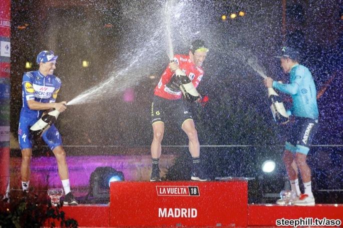 Vuelta España 2018; Etapa 21 Alcorcon - Madrid  100,9 Km ; Domingo 16/09/2018